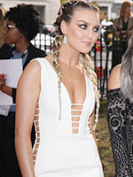 Perrie Edwards - Glamour Awards White Topaz Earrings