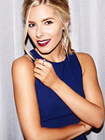 Mollie King (Maybelline Christmas Party Look Campaign)