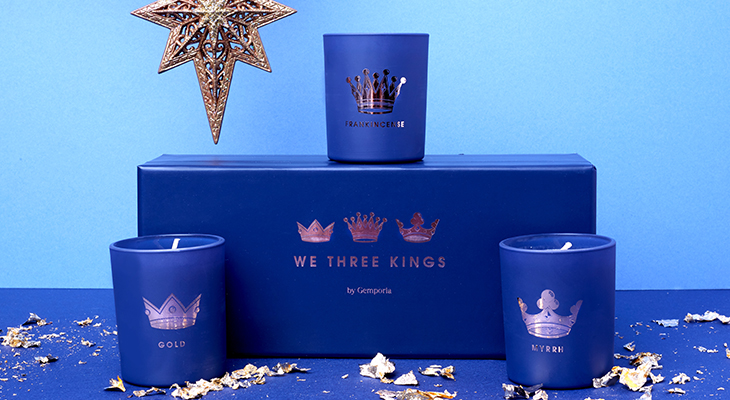 WE THREE KINGS CANDLE SET