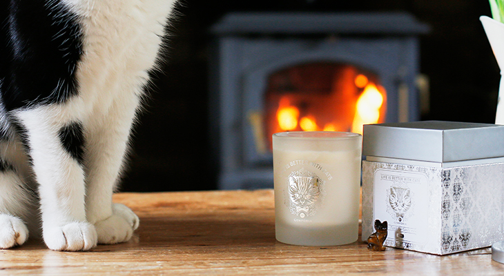 CAT LOVERS CANDLE