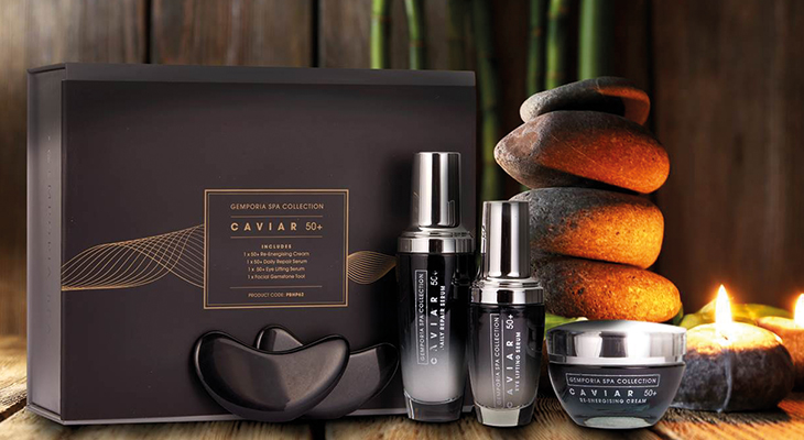 CAVIAR SPA SET