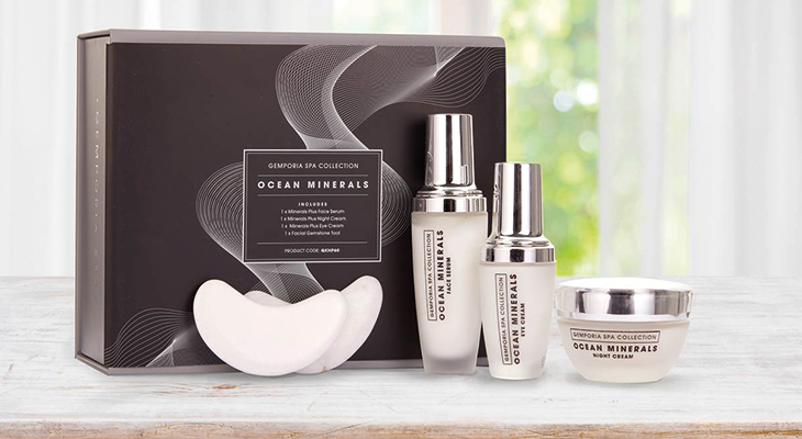 OCEAN MINERALS SPA SET