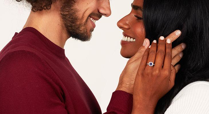 Tanzanite Engagement Rings