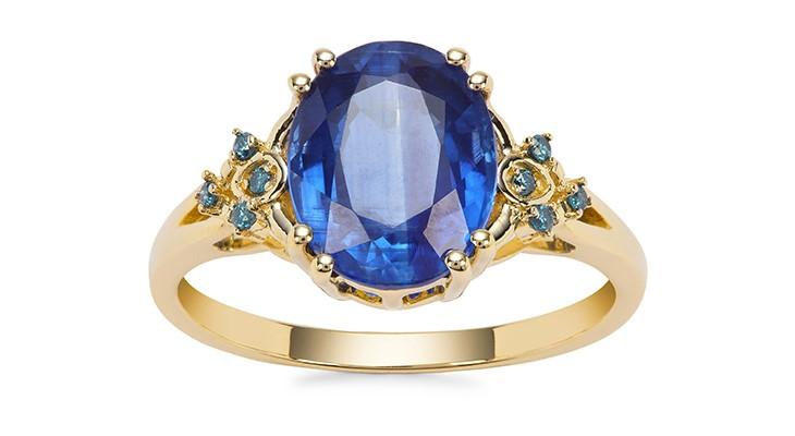 Nilamani & Blue Diamond Ring