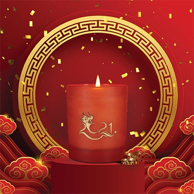 Year of the Ox Candle