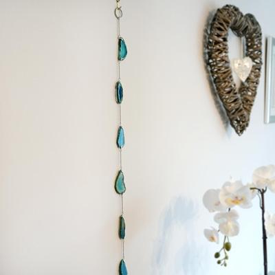 Agate Slice Hanging Decoration