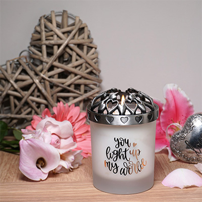 'Open Your Heart' Candle