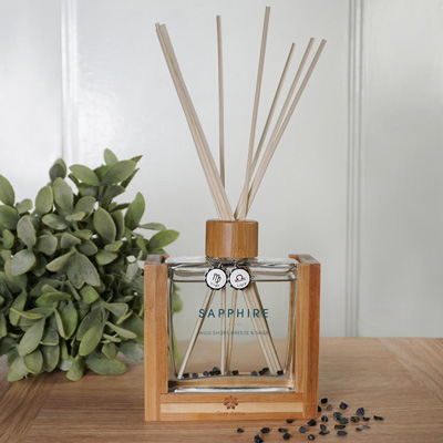 Reed Diffuser with Virgo & Libra Pendant
