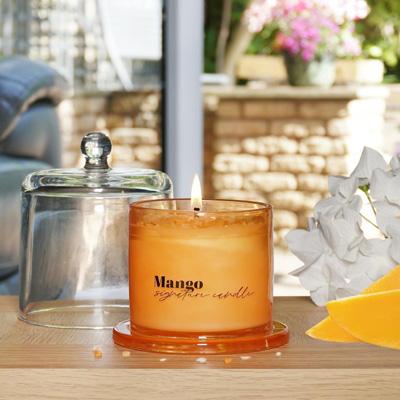 Signature Candle with Mango Fragrance