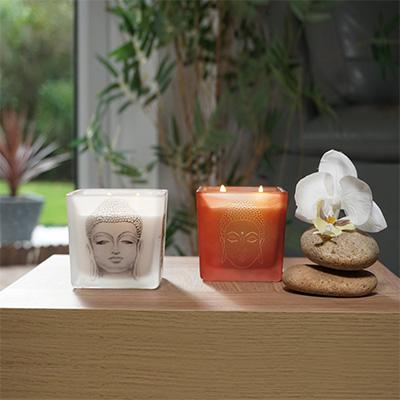 Karma Buddha Candle