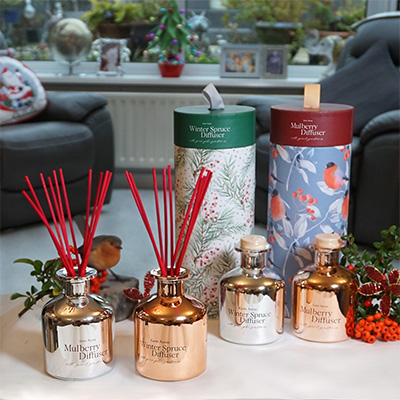 Christmas Reed Diffusers - Mulberry