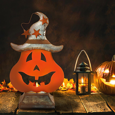 Pumpkin Tabletop Decoration